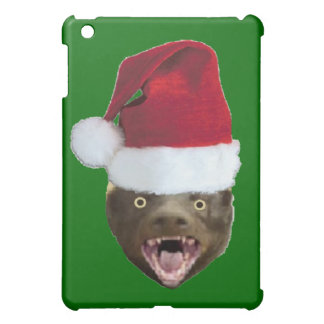 Christmas Badger Don't Care Gifts iPad Mini Covers