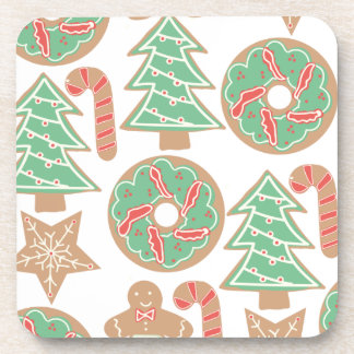 Christmas Baking Print Coasters