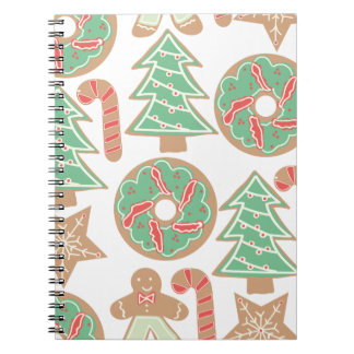 Christmas Baking Print Notebooks