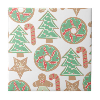 Christmas Baking Print Tile