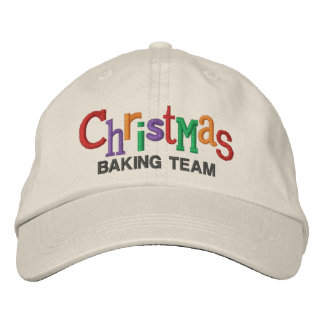 Christmas Baking Team Embroidery Hat Embroidered Hat