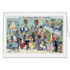 Christmas Ball at Catville, Louis Wain Card