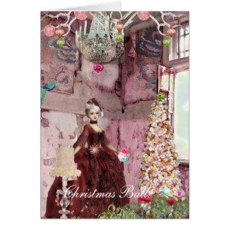 Christmas Ball invitation Greeting Cards