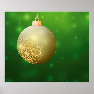 Christmas Ball Poster