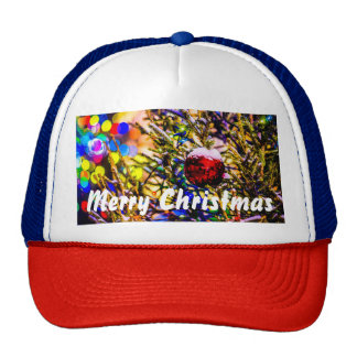 Christmas Ball Red Cap