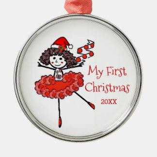Christmas Ballerina - My First Christmas Christmas Ornament