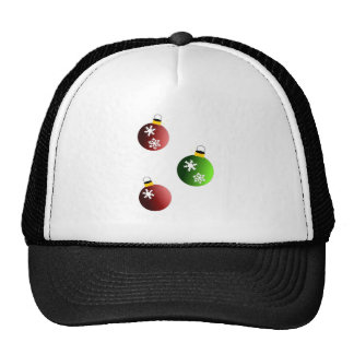 Christmas balls hat