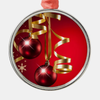 Christmas balls Silver-Colored round decoration