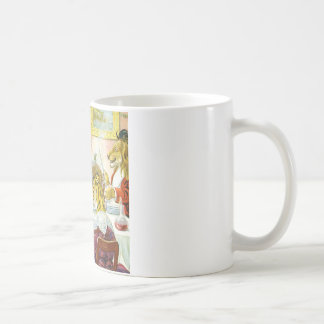 Christmas Banquet in Animal Land Coffee Mug
