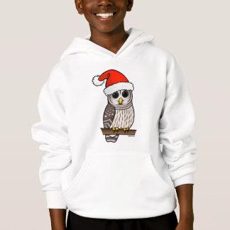 Christmas Barred Owl Santa