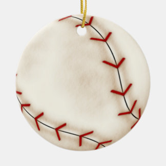 Christmas baseball christmas ornament