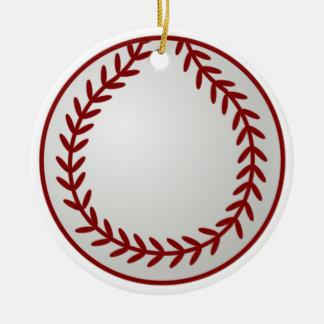 Christmas baseball christmas ornament