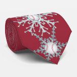 Christmas baseball tie