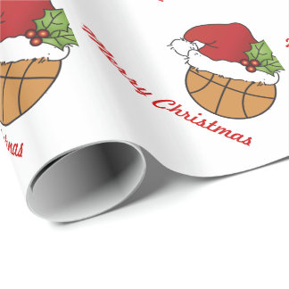 Christmas Basketball Wrapping Paper