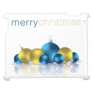 Christmas bauble iPad case