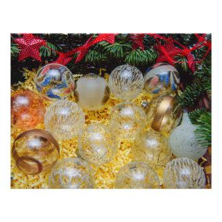 Christmas baubles 21.5 cm x 28 cm flyer