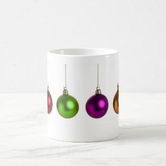 Christmas baubles mug