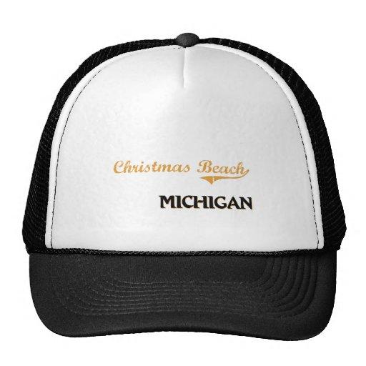 Christmas Beach Michigan Classic Hats