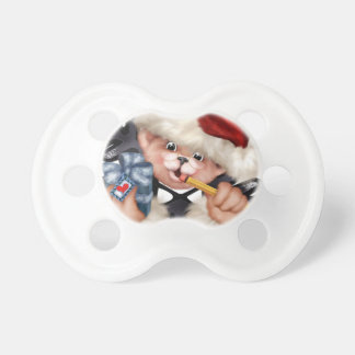 Christmas Bear 2 0-6 months BooginHead® Pacifier