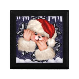 CHRISTMAS BEAR 3 ENGLISH GIFT BOX 8
