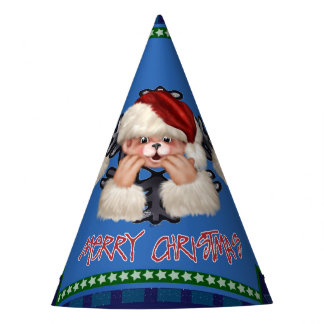 CHRISTMAS Bear 4 Party Hat
