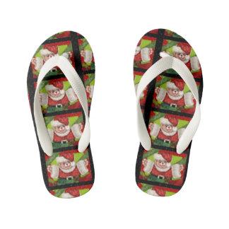 CHRISTMAS BEAR 5 CARTOON Flip Flop shoes kids