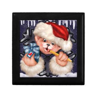 CHRISTMAS BEAR 5 ENGLISH GIFT BOX 8