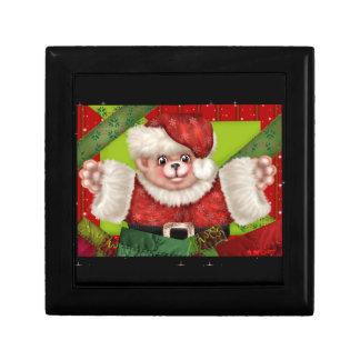 CHRISTMAS BEAR 5 GIFT BOX