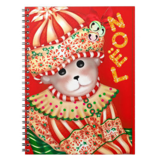 CHRISTMAS BEAR 6 Photo Notebook