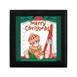 CHRISTMAS BEAR  7 GIFT BOX 2