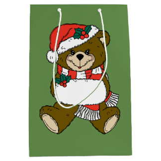 Christmas Bear Gift Bag