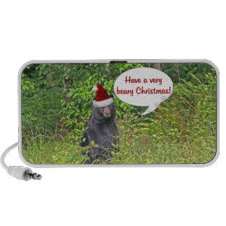 Christmas Bear Notebook Speaker