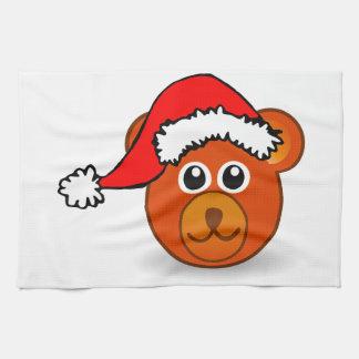 Christmas Bear Tea Towel