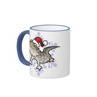 Christmas Bearded Dragon / Rankins Dragon Mugs