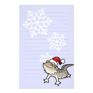 Christmas Bearded Dragon / Rankins Dragon Stationery