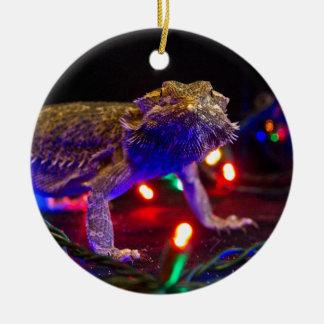 Christmas Beardie Christmas Ornament