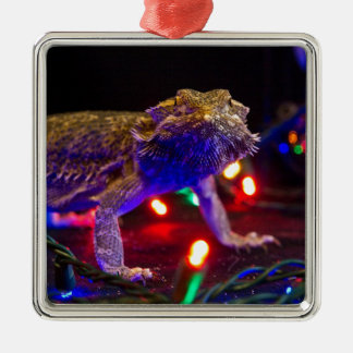 Christmas Beardie Christmas Ornament