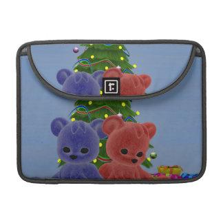 Christmas Bears 2 Sleeves For MacBooks