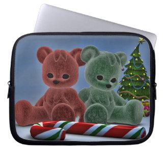 Christmas Bears Computer Sleeve