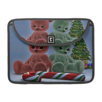 Christmas Bears Sleeve For MacBooks