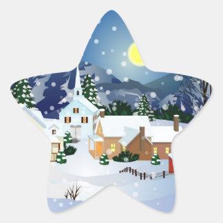 Christmas Beauty Star Sticker