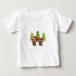 Christmas Beavers Baby T-Shirt
