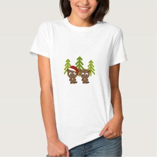 Christmas Beavers T Shirt