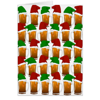 Christmas Beer Cheer Greeting Cards