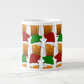 Christmas Beer Cheer Extra Large Mugs