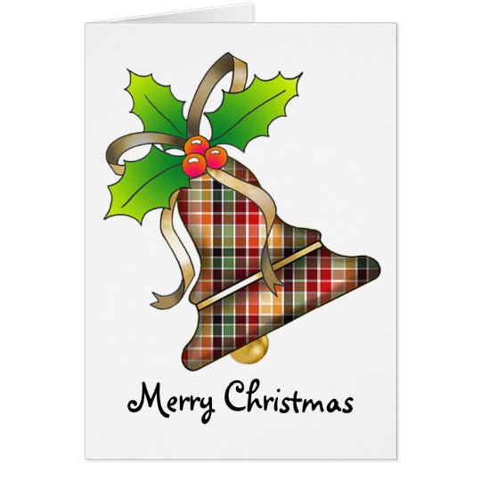 Christmas Bell 14 - Merry Christmas Card