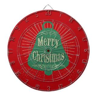 Christmas bell dartboard