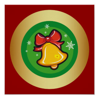 Christmas Bell Print