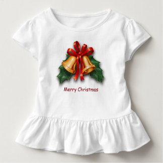 Christmas Bells and Holly Leaves Tees