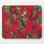 Christmas Bells and Pine Cones Mouse Pad